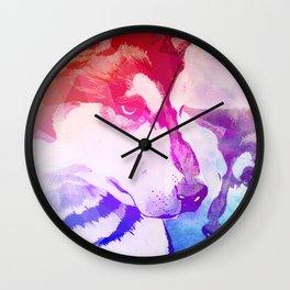 Mans' Bestfriend Wall Clock