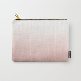 Rose Gold Ombre Carry-All Pouch