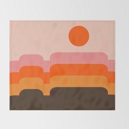 Honey Hills Throw Blanket