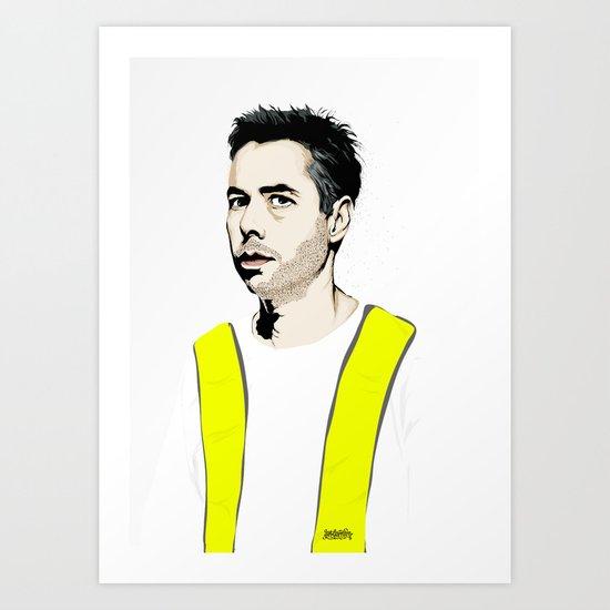 RIP MCA Art Print