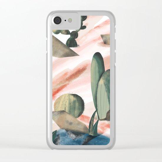 Pasancana & Quehualliu Clear iPhone Case