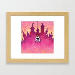 Little spiderprincess Framed Art Print