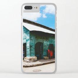 Cartagena, Colombia - Tienda Las Tablitas, Getsemani Clear iPhone Case