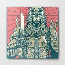 Jeanne D'Arc Metal Print