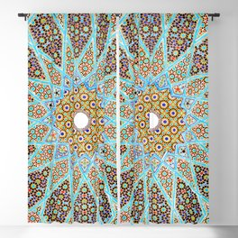 Islamic Mosaic Tile 1 Blackout Curtain