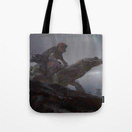 lizard rider rapid Tote Bag