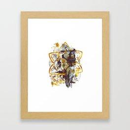 Golden goddess I Framed Art Print
