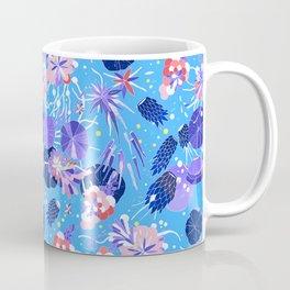 In Bloom Flower Print Coffee Mug