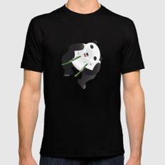 pppanda! Mens Fitted Tee Black MEDIUM