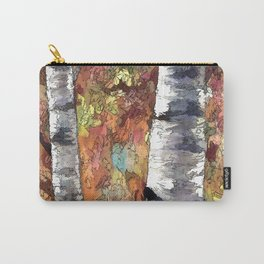 Aspen Trees Panorama Carry-All Pouch