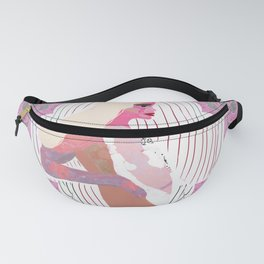 Space Blonde Girl Design Fanny Pack