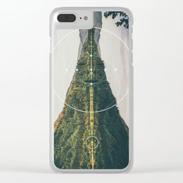 Goddess #1 Clear iPhone Case