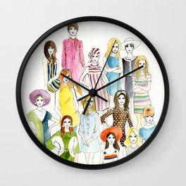Mod 60s Wall Clock