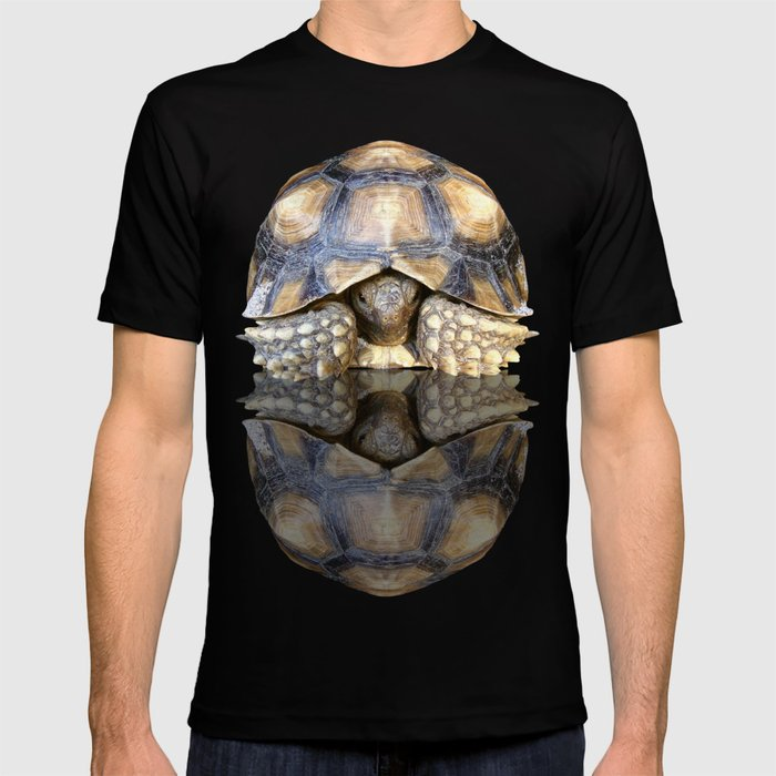 Sulcata Tortoise with Reflection T-shirt