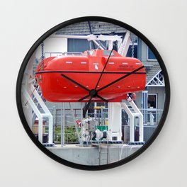 Lifeboat Trainer Wall Clock