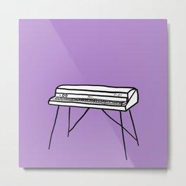 Rhodes Piano Metal Print