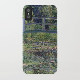 Water Lilies and the Japanese Bridge by Claude Monet iPhone Case