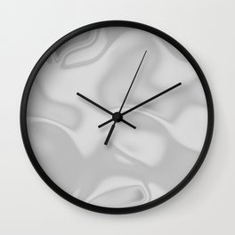 Silky Flow Texture Wall Clock