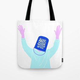 YOUR SOCIAL MEDIA COMMENTS Tote Bag