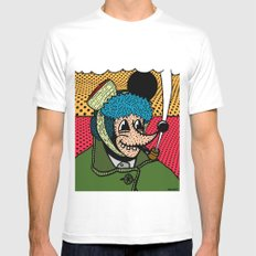 SEVERED EAR.  (Self Portait Of Van Gogh). Mens Fitted Tee White MEDIUM