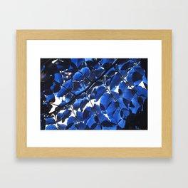 Leaves III Framed Art Print