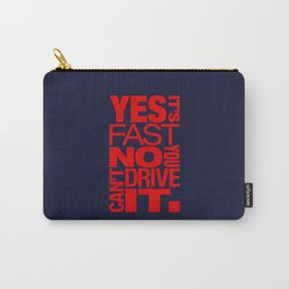 Yes it's fast No you can't drive it v5 HQvector Carry-All Pouch