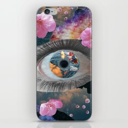 crazy eye iPhone Skin