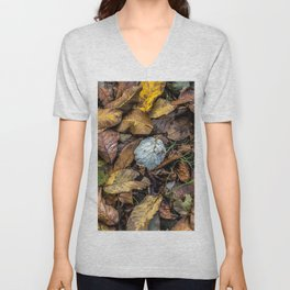 Summer is gone, Autumn is finally here Unisex V-Neck