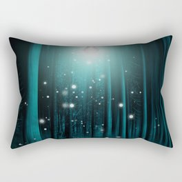 Floating Lights Room Rectangular Pillow
