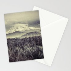Mountains - Mt. Hood Remember the Snow Stationery Cards