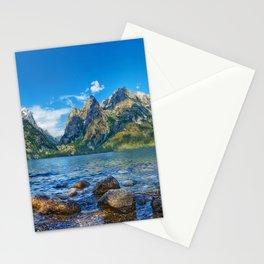 Jenny Lake Grand Teton National Park Wyoming United States Ultra HD Stationery Cards