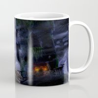 castlevania Mugs featuring Castlevania: The Bridge by FirebornForm
