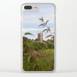 God's House Clear iPhone Case