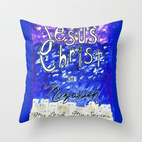 Faith In Christ Throw Pillow