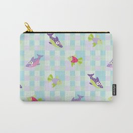 Crazy Fishes Carry-All Pouch