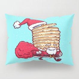 Santa Pancake Pillow Sham