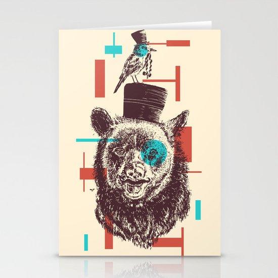 Beards Stationery Cards