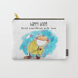 Doing everything with Love Carry-All Pouch