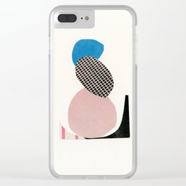 Abstract 006 Clear iPhone Case