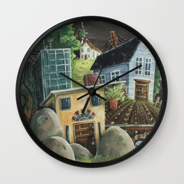 Isolated Chaos Wall Clock