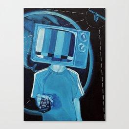 Brain Wash Canvas Print