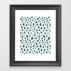 Stones and Lines I Framed Art Print