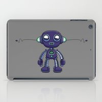android iPad Cases featuring Purple Android by Richtoon