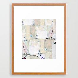 Bodega Exterior at Bedford St. & 6th Ave., Manhattan, January 2015 Framed Art Print