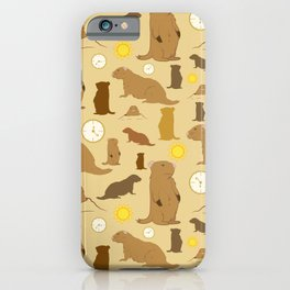 Groundhogs iPhone Case