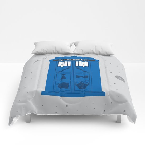 The Tardis Got Some Ink Comforters