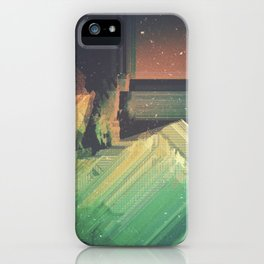 disp|aced iPhone Case