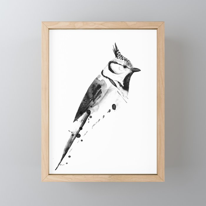 Birdy No. 2 Framed Mini Art Print