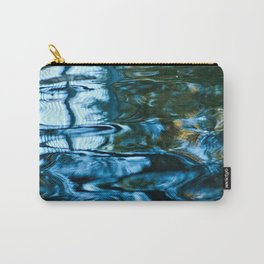 Water Surface Reflections Abstract Texture Carry-All Pouch