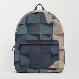 CHAPLIN'S BLUE PRINT #society6 Backpack